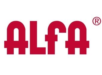 Alfa logo y catalogo